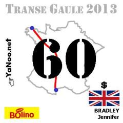 I'm number 60 in the Transe Gaule 2013